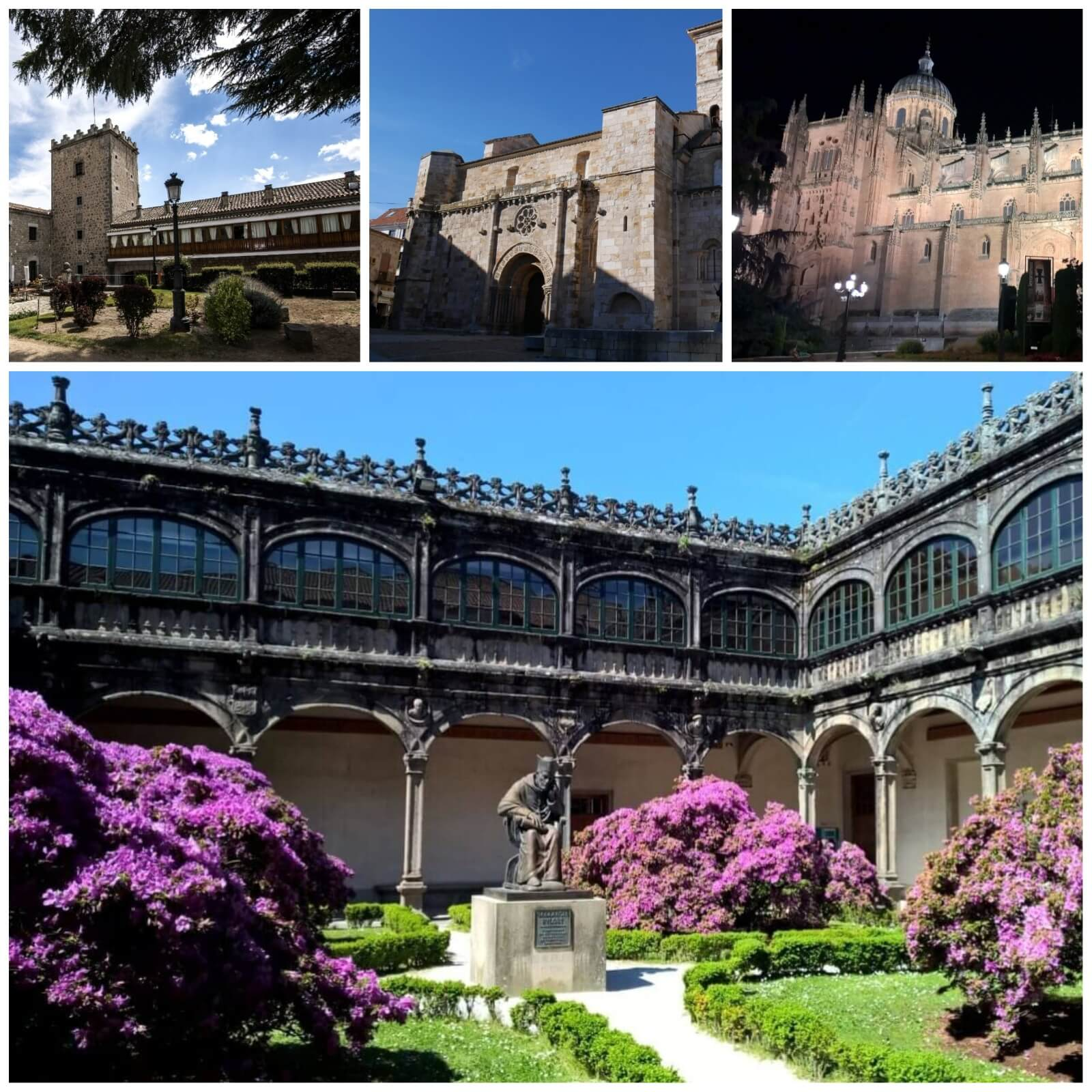 9 Ideas for Self Drive Tours in Spain and Portugal - 4. Exploring UNESCO Heritage Cities of Salamanca, Segovia & Avila