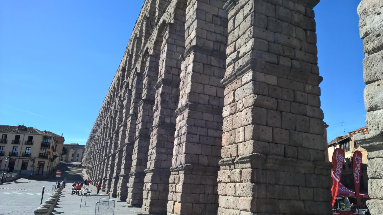 Top 10 virtual tours of Spain - 3. Aqueduct of Segovia