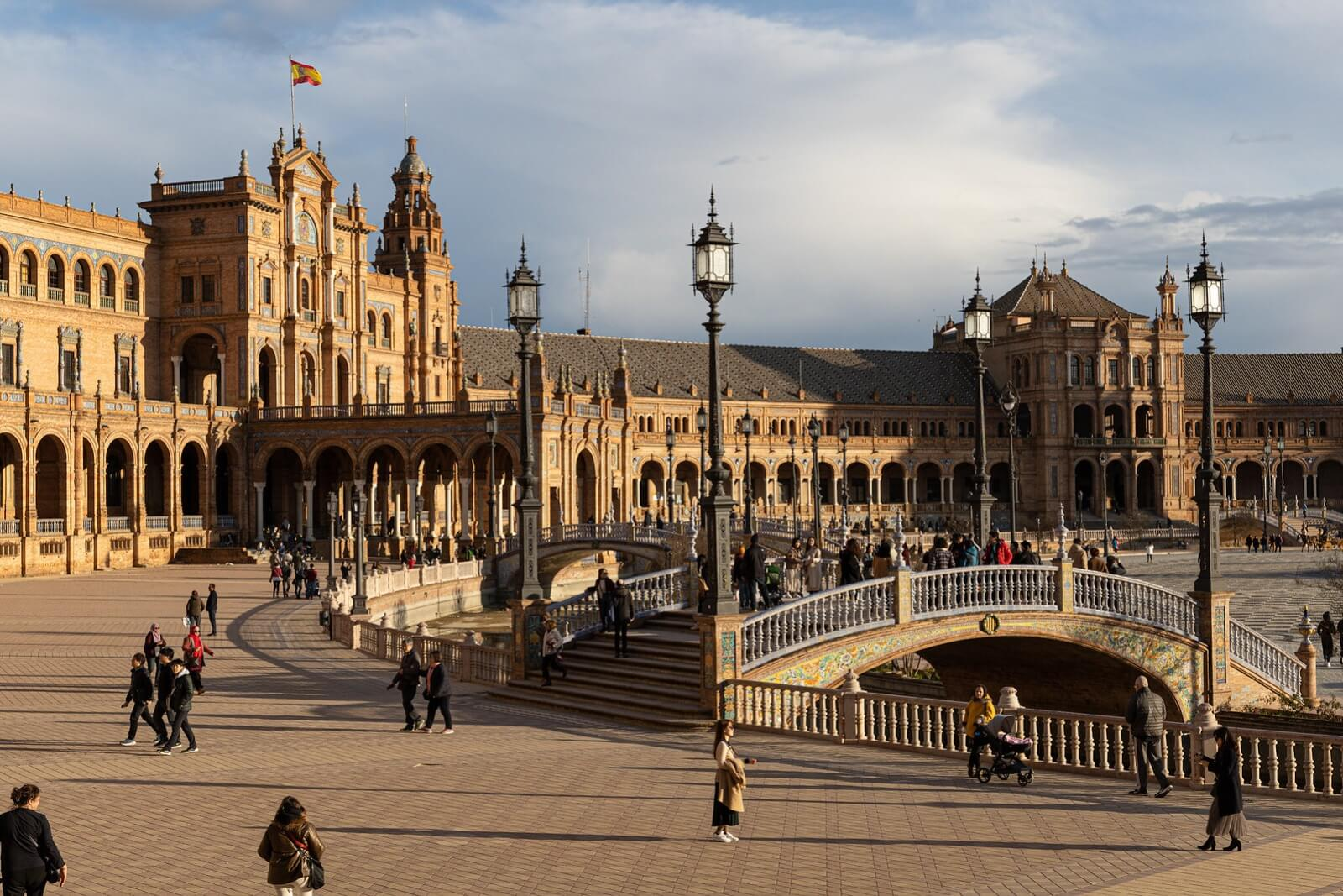 Top 10 virtual tours of Spain - 9. Plaza España
