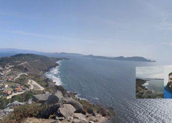 Virtual Walking Tour of Lighthouse Trail in Cangas Live Online