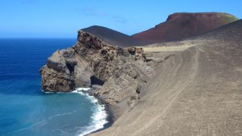 Capelinhos Volcano and Crater in Faial Island (HD)