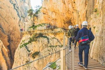 Full Day Small Group Excursion to Caminito del Rey from Costa del Sol