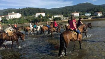 Camino de Santiago Horse Riding Along the Coast of Galicia