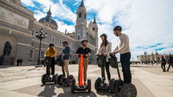 Madrid Highlights & Retiro Park Segway Tour