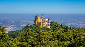 Sintra Palace, Cascais and Estoril Coast from Lisbon