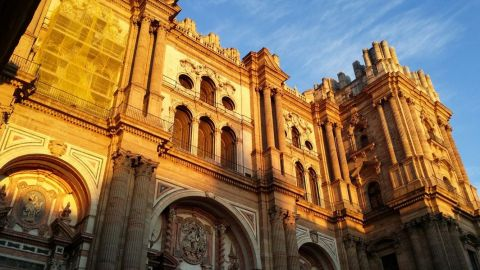 Malaga Cathedral, Malaga Castle and Picasso Birthplace Museum