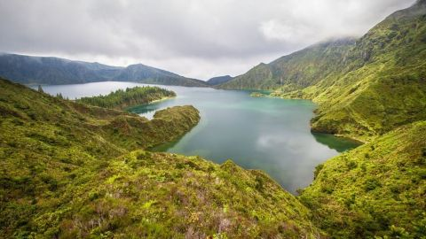 Lagoa do Fogo and Furnas, Sao Miguel