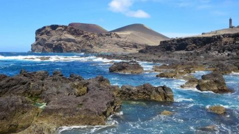 Capelinhos Volcano and Crater in Faial Island (FD)