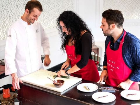 Andalusian Traditional Tapas Cooking Competition/Class