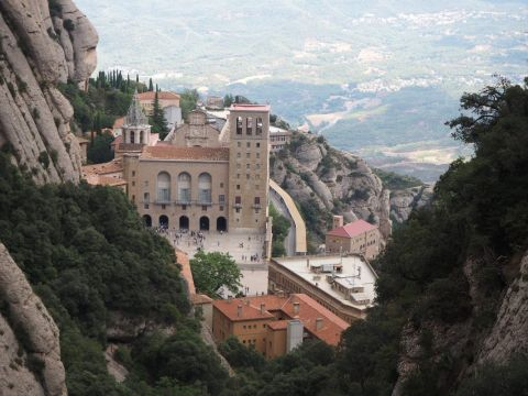 Montserrat Monastery The Holy Mountain with Funicular Railway ride