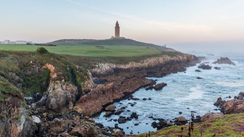 Private Excursion to A Coruna City and  the Wild Rocky Coast of the Rias Altas in Galicia
