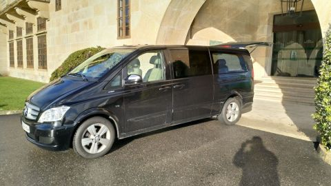 Private Driver-Chauffeur Car or Minivan Transfers and Transportation Services in Vigo