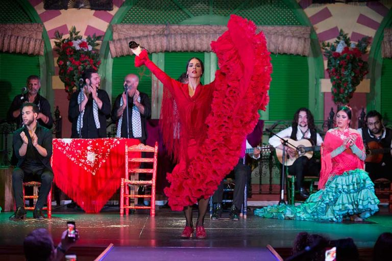 Live Flamenco Dancing Show in Seville
