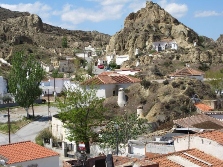 Guadix Cave Homes and Old Quarter