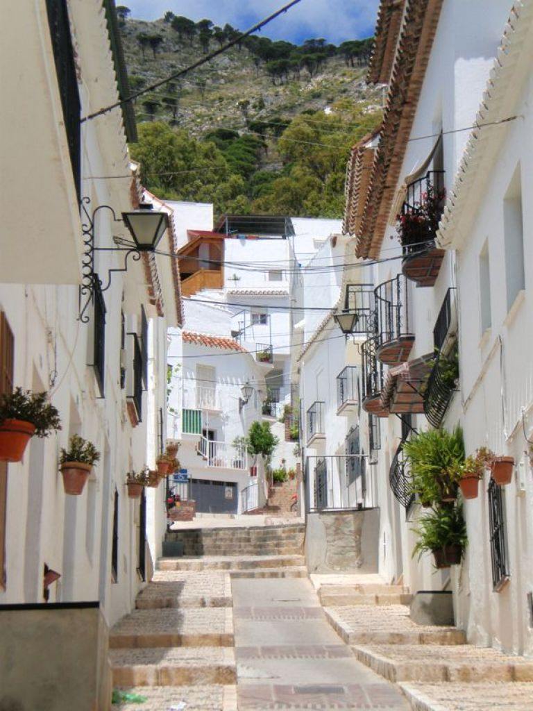 Mijas Whitewashed Village in the Costa del Sol