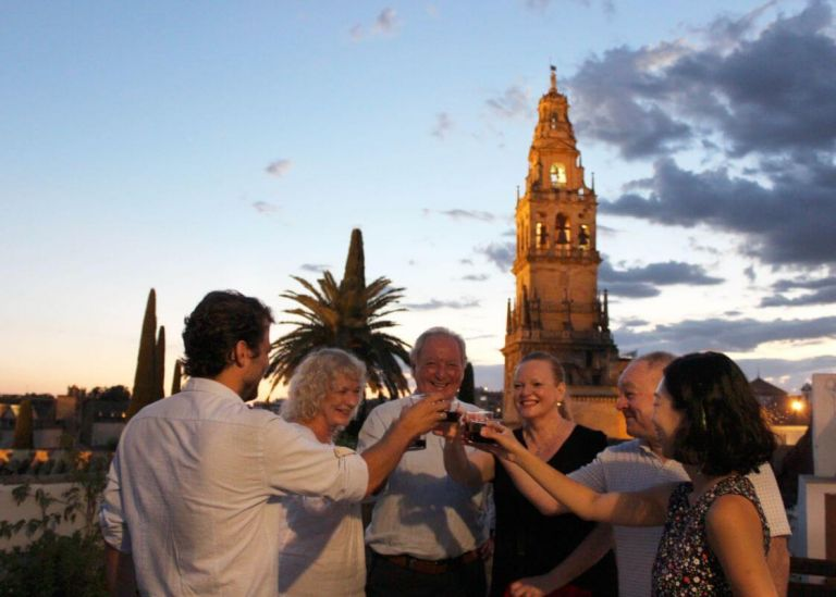 Small Group Terrace and Traditional Tapas Tour in Cordoba