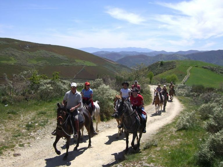 Riding Along The French Trail to Santiago