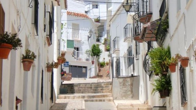 Mijas Whitewashed Village from Malaga