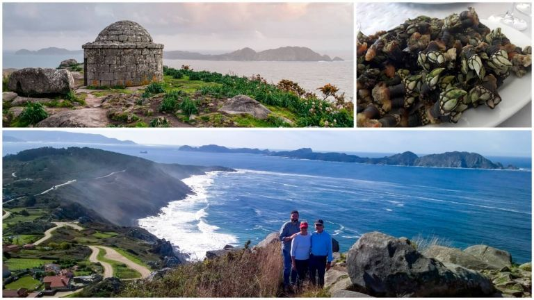 A Virtual Walking Tour of Spain´s Wild Atlantic Coast: Cangas, Galicia
