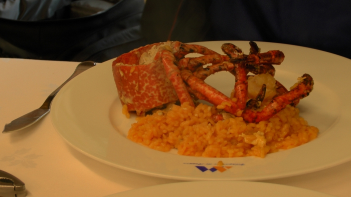 Lobster with Rice (Bogavante con Arroz), Seafood of Galicia