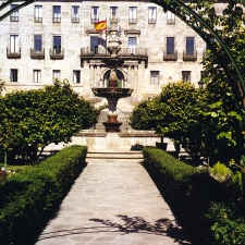 Town Hall and fountain, Pontevedra