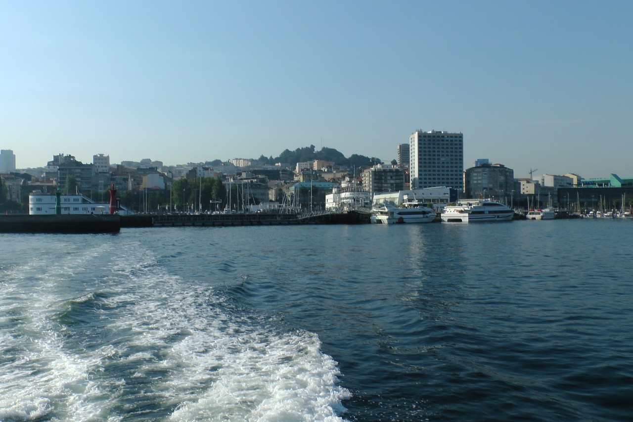 Leaving Vigo on Boat - Galician Coastal Cooking Class and Boat Ride on Vigo