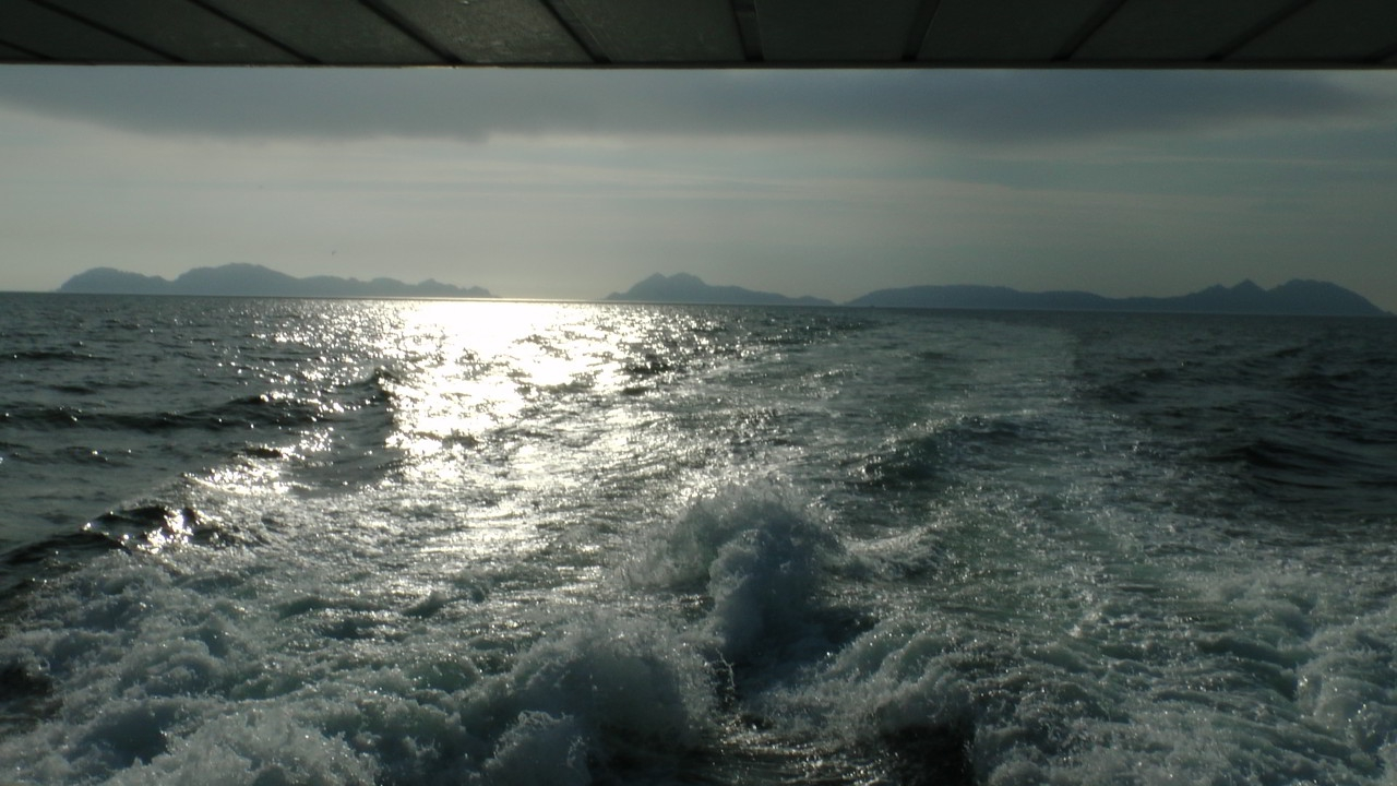 Views of Cies Islands from Boat - Galician Coastal Cooking Class and Boat Ride on Vigo