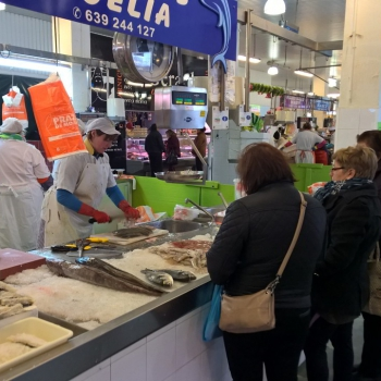 Inside the Market of Moa�a - Galician Coastal Cooking Class and Boat Ride on Vigo