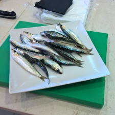 Fresh Small Sardines (Xoubas) - Galician Coastal Cooking Class on Vigo Bay