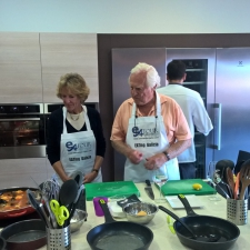 Watching the Seafood Cook - Galician Coastal Cooking Class on Vigo Bay