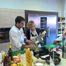 Making Dessert - Galician Coastal Cooking Class on Vigo Bay