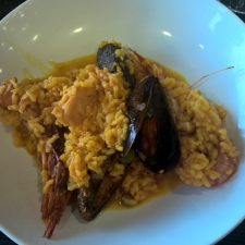 Galician Paella Served - Galician Coastal Cooking Class on Vigo Bay