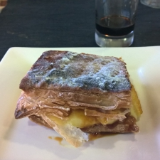 Dessert Pastry served - Galician Coastal Cooking Class on Vigo Bay