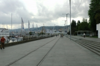 Promenade along Nautical Port of Vigo