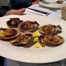 Pazo Baion Albarino Winery - Group Lunch - Zamburiñas (Baby Scallops)