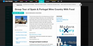 Group Tour of Spain & Portugal Wine Country With Food