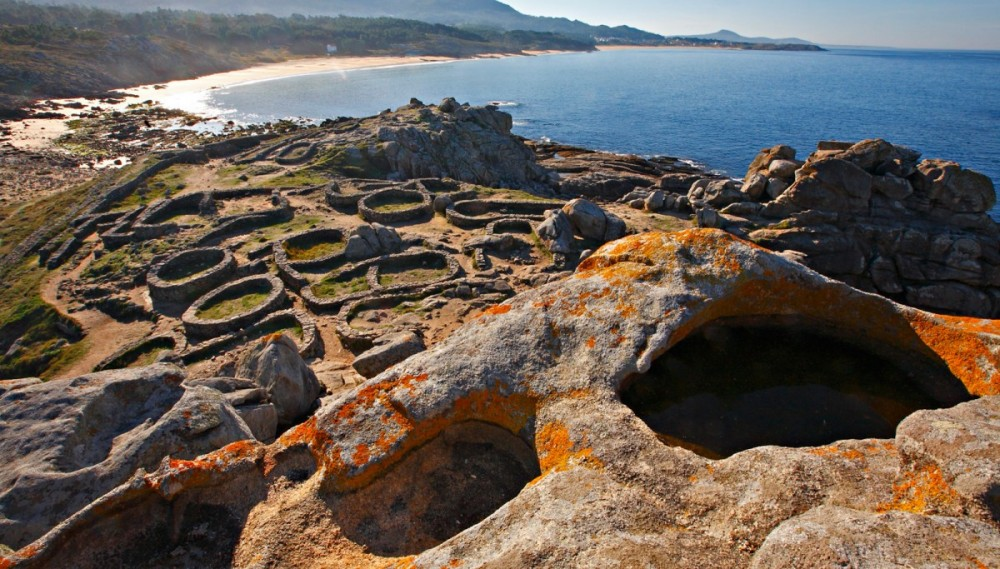 Celtic Hill-Fort of Castro de Baroña