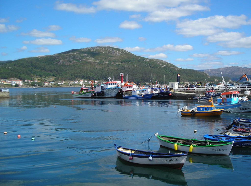 MUROS small fishing port